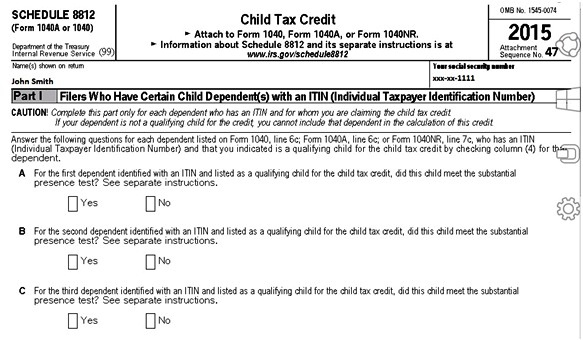 How to renter Child Tax Credit in Lacerte Tax software ...