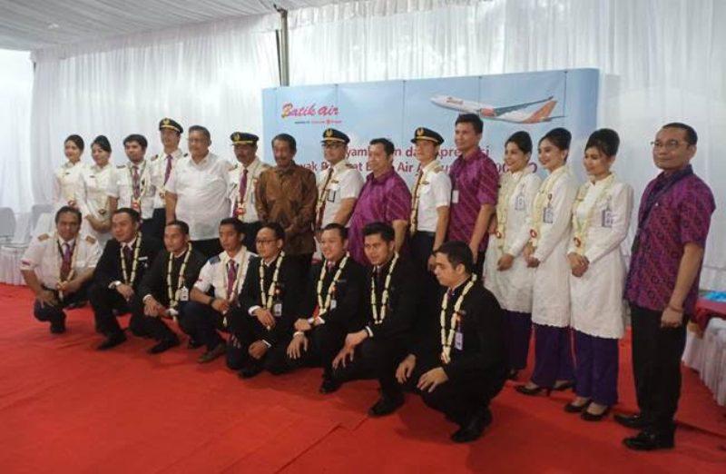 """""""Misi Kemanusiaan"""" Rute Soekarno-Hatta, Tangerang – Wuhan – Batam Itu Selesai, Ini Sambutan Batik Air"""