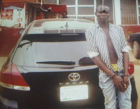 car thief lagos