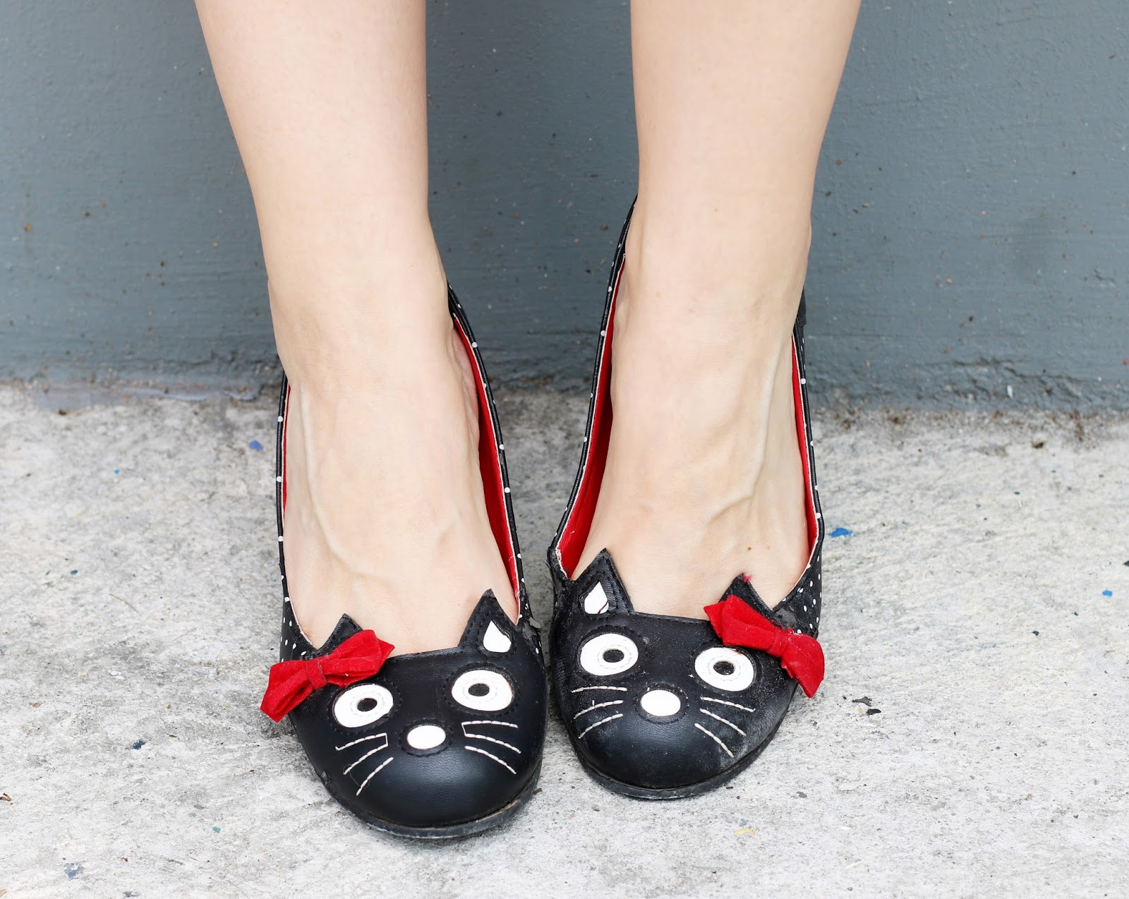 The cutest cat shoes ever!