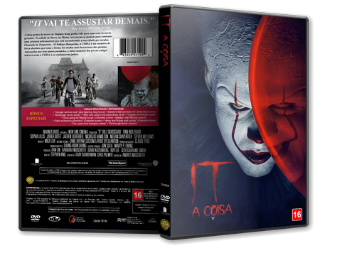 Capa DVD It A Coisa [Custom]