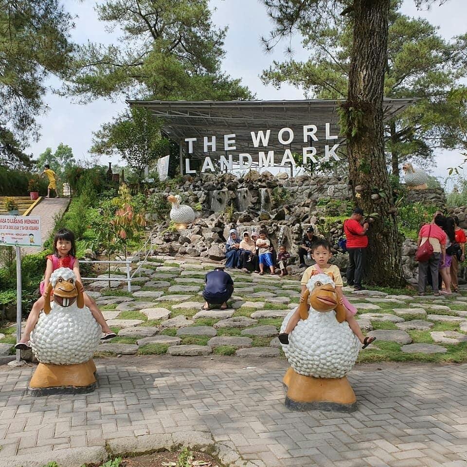 Harga Tiket Masuk The World Landmark Merapi Park Jogja