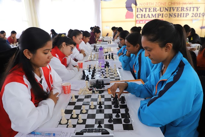 North Zone Inter University Chess Tournament at Chandigarh University