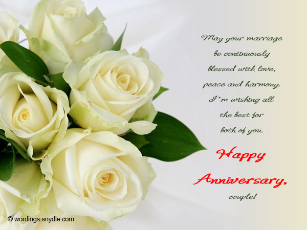happy anniversary messages for