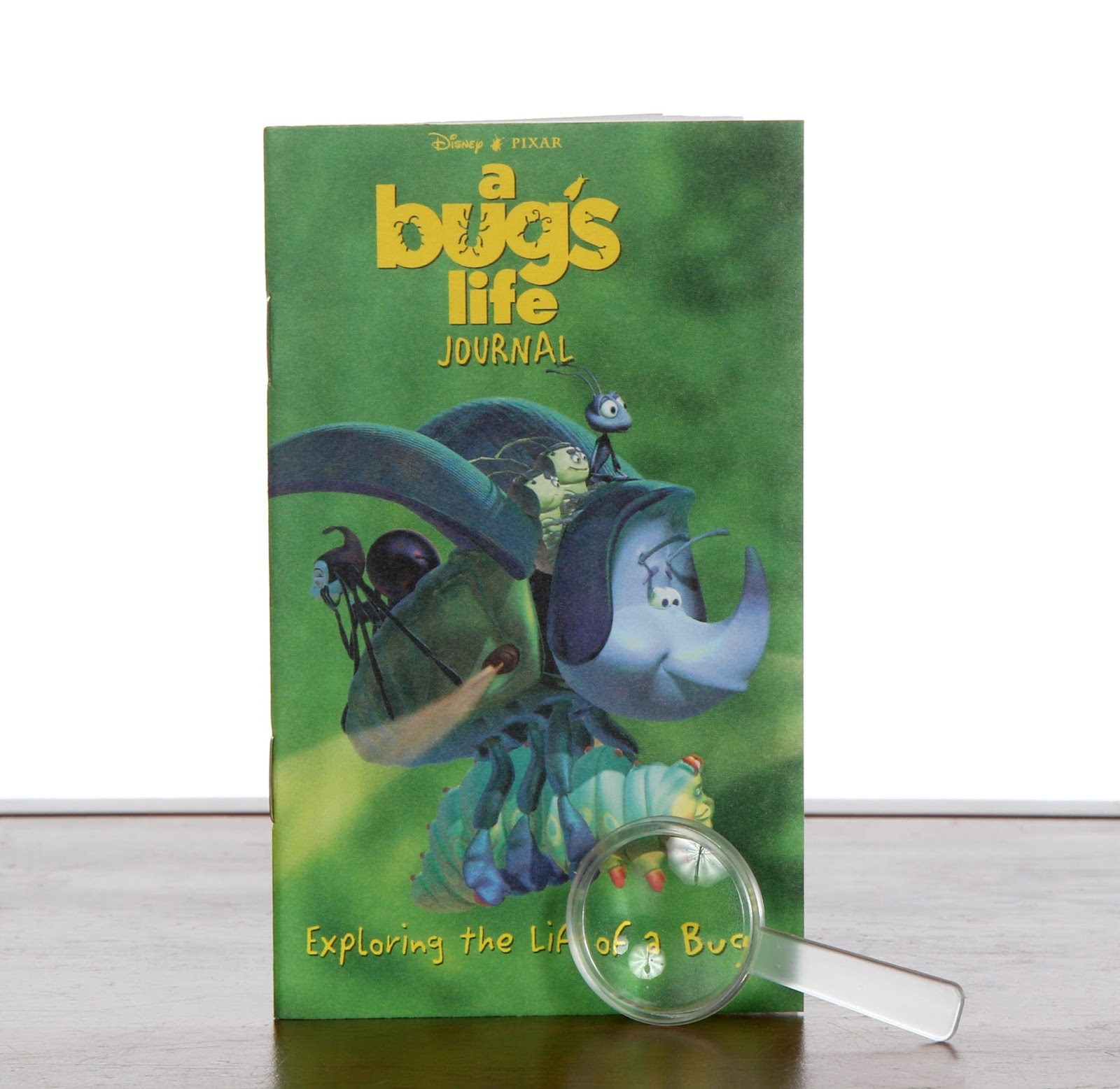a bug's life golden go pack books journal