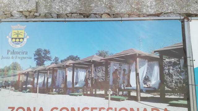 Aluguer de Sombras Praia Fluvial Ponte do Bico