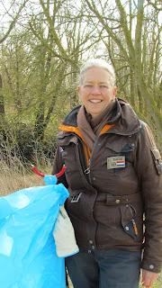 CITO Biesbosch geocaching event plastic opruimen