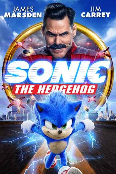Sonic The Hedgehog 2020 480p 300MB BRRip Dual Audio [Hindi - English]