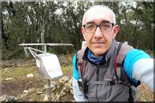 Atalaya mendiaren gailurra 908 m. - 2018ko otsailaren 16an