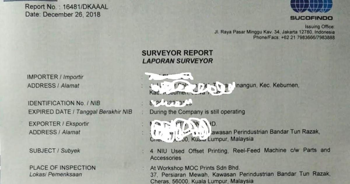 Laporan Surveyor Ls