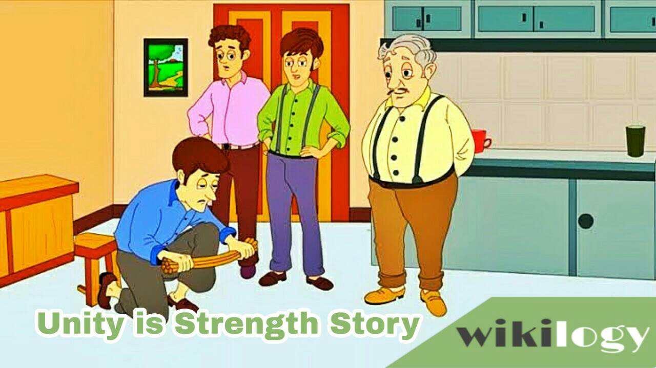 Unity is Strength Story Farmer, Union is Strength Story, The Farmer and His Sons Story