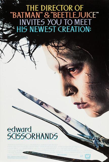 Pôster do filme Edward Mãos de Tesoura filmes natal