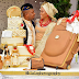Check out this couple's engagement cake, photos