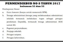 Permendikbud No 08 Tahun 2017 Terbit, Guru Honorer Wajib Mengantongi SK PEMDA