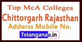 Top MCA Colleges in Chittorgarh Rajasthan