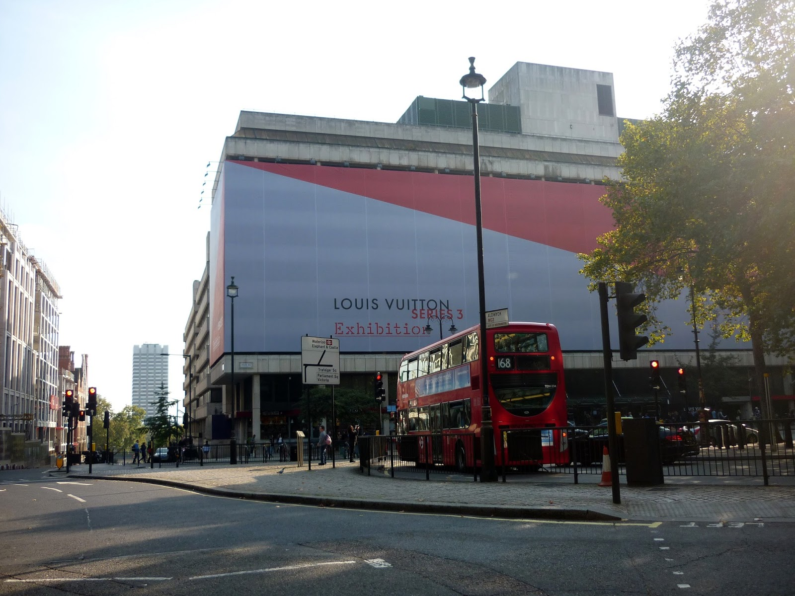 180 The Strand & Red London Bus | Petite Silver Vixen