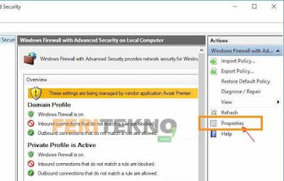 cara mematikan windows firewall dengan mudah 6