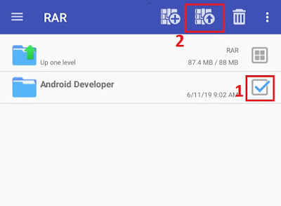 How to Create & Open the Zip, Rar, 7z File on Android, Zip and Unzip