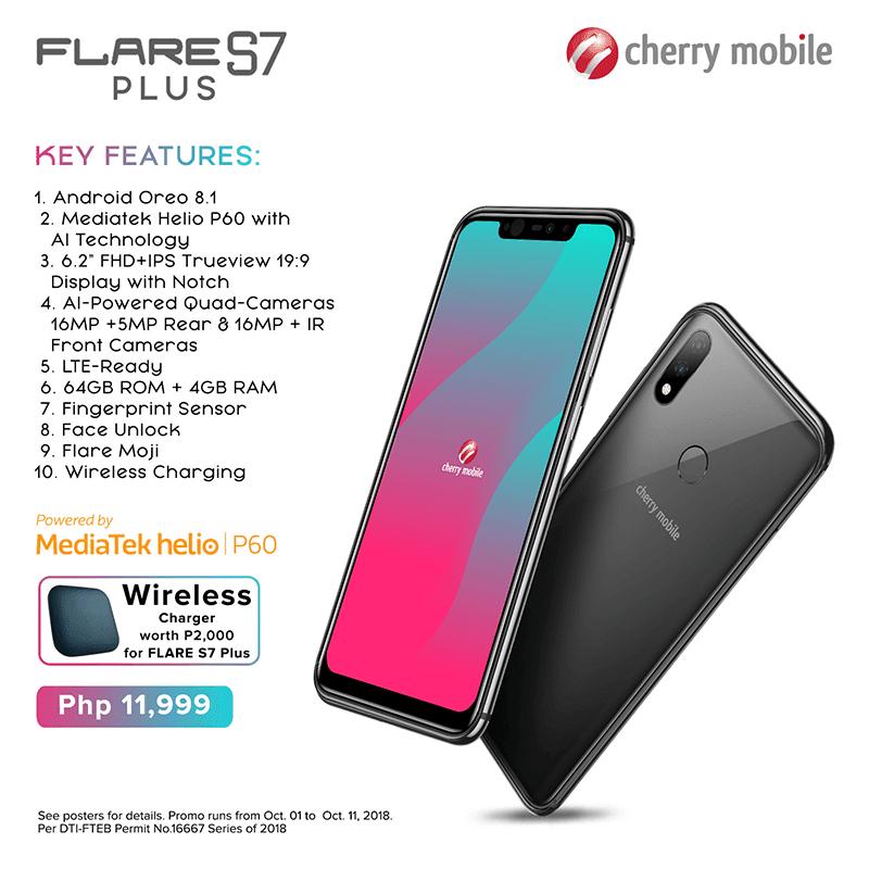 Specs of Flare S7 Plus
