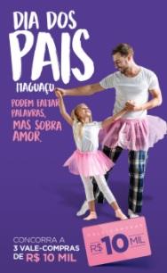 Promoção Shopping Itaguaçu Dia dos Pais 2021