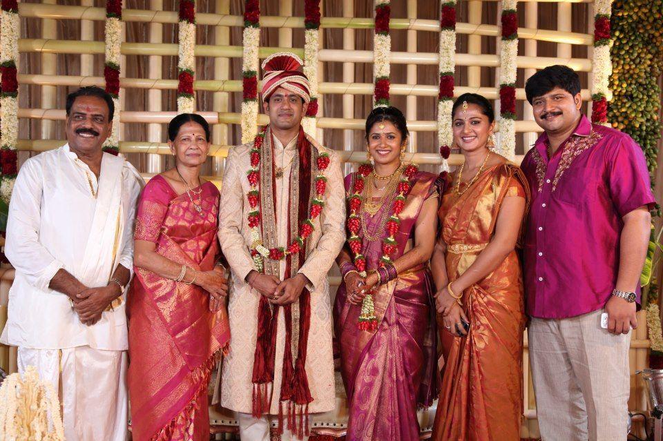 Anushka Shetty in Family Photos