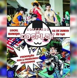 8º Concurso de Cosplay de Registro-SP será no domingo, dia 02 de junho