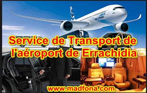 Service de transport de l'aéroport de Errachidia