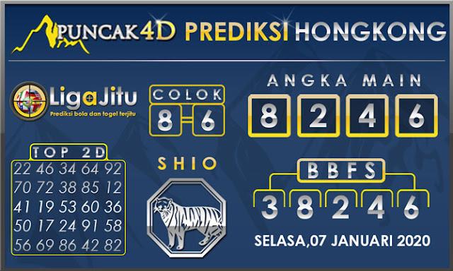 PREDIKSI TOGEL HONGKONG PUNCAK4D 07 JANUARI 2020