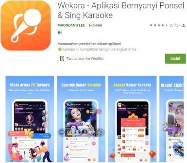 Wekara - Aplikasi Bernyanyi Ponsel & Sing Karaoke