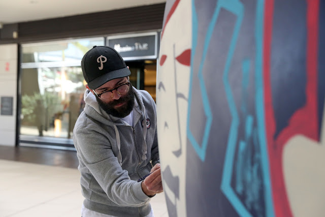 El ilustrador Jorge Lawerta acerca el arte urbano a Bonaire
