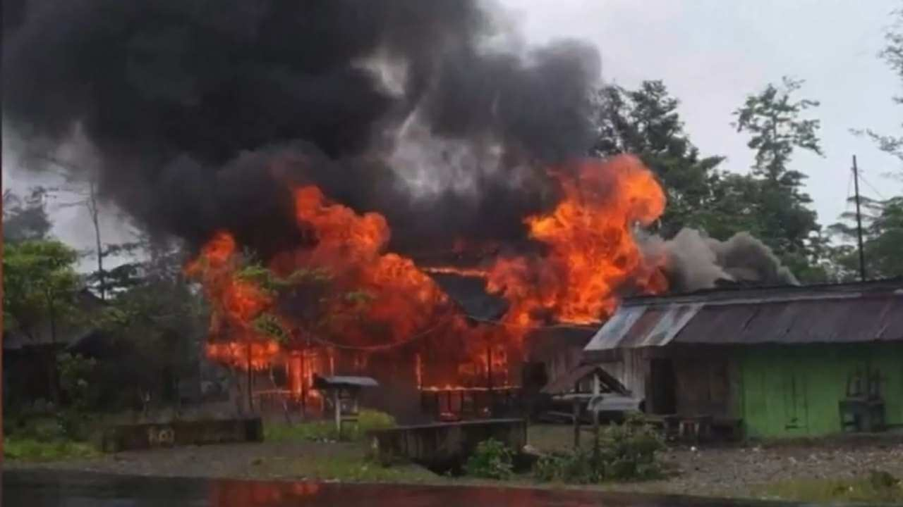 Akibat Kerusuhan Yahukimo Papua Tewaskan 6 Orang, 41 Orang Luka-luka, Polisi Tangkap 52 Pelaku