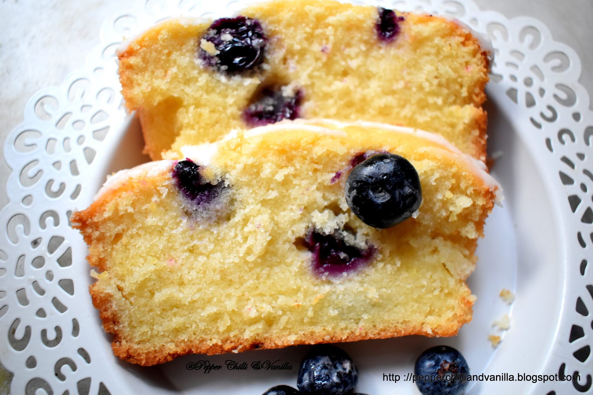 fresh blueberries cake,lemon and blueberry loaf