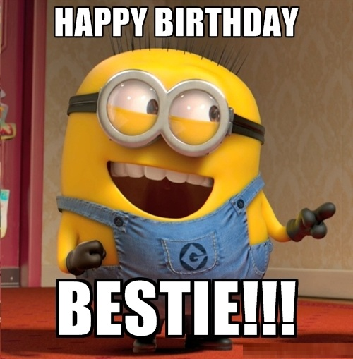 Happy Birthday Minions Wallpapers
