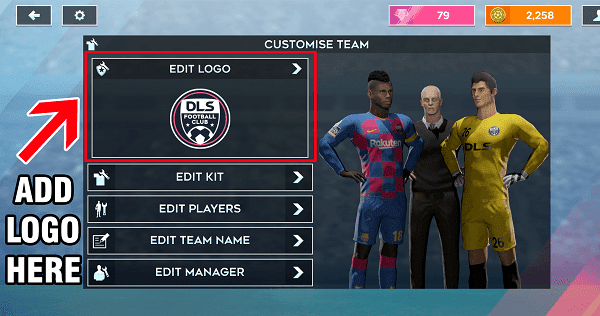 import logo in dream lesgue soccer 2020