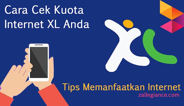 Cara Cek Kuota Internet XL via Dial Kode
