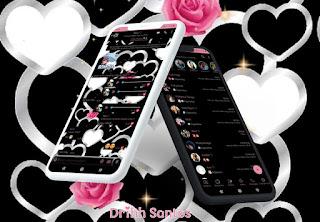 Black Love Theme For YOWhatsApp & Fouad WhatsApp By Driih Santos