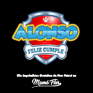 Logo de Paw Patrol: Alonso