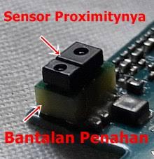 langkah untuk menghilangkan efek sensor proximity