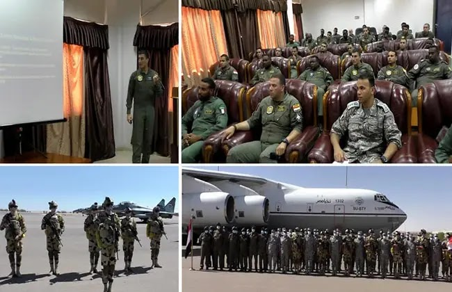 For the first time ... a joint air training between Egypt and Sudan