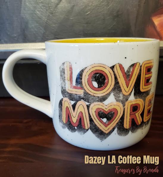 LOVE MORE Dazey LA for Anthropologie Coffee Mug