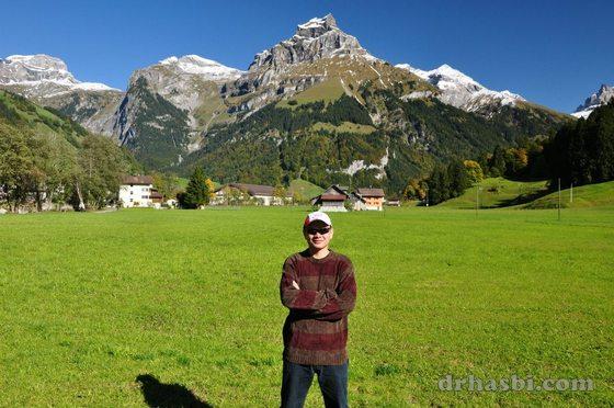 Melancong percuma bersama Adibah ke Mount Titlis Switzerland