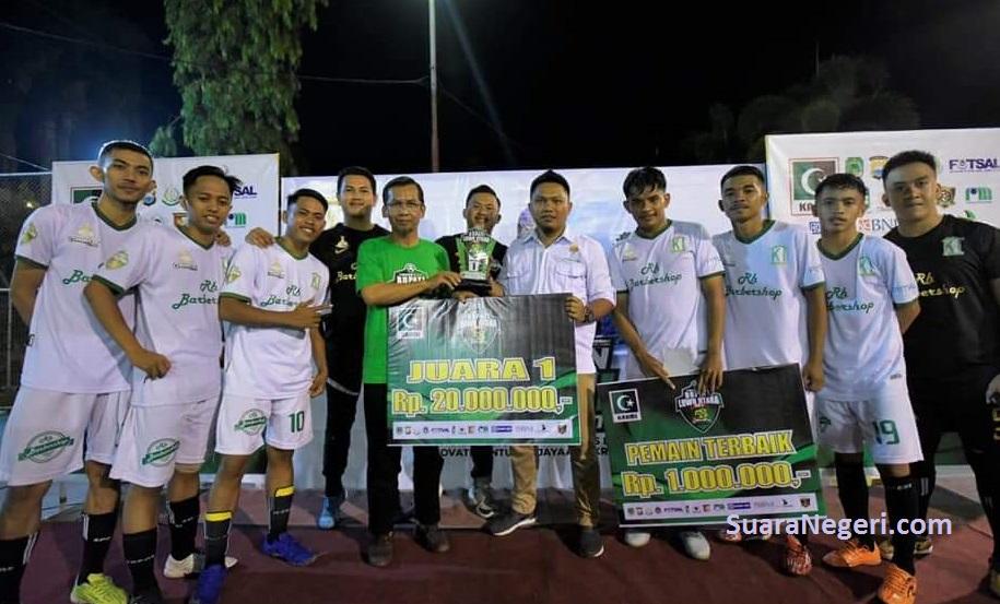 Bertekat Majukan Futsal Luwu Utara, Rijal Muddin Siap Bertarung Diajang Pemilihan Ketua AFK