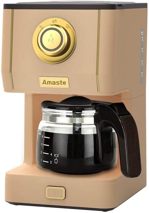 AMASTE Coffee Machines with 25 Oz Glass Coffee Pot