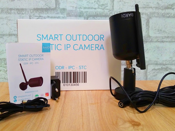 BARDI Smart Outdoor Static IP Camera