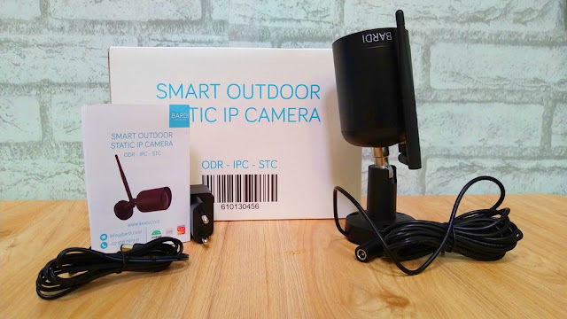 bardi smart outdoor ip static camera