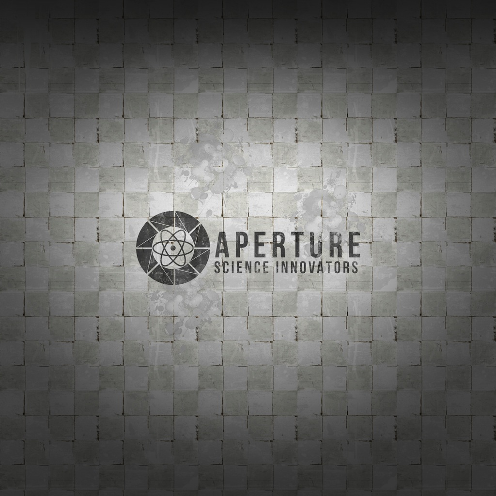 What is your wallpaper on your handset nexus4Aperture Science Innovators