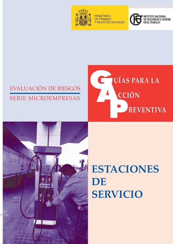 Guía acción preventiva para estaciones de servicio