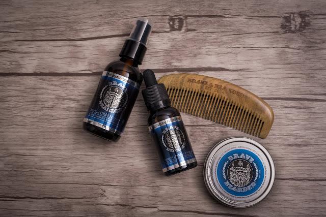 produits pour la barbe Braves & Bearded
