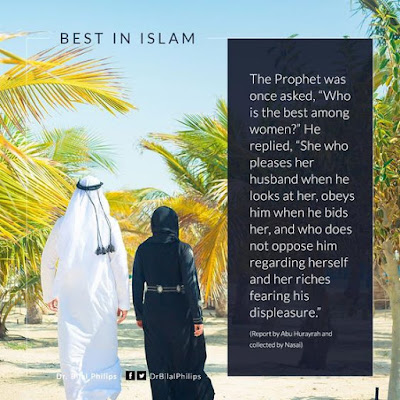 The Best among women She who pleases her husband when he looks at her| Islamic Marriage Quotes by Ummat-e-Nabi.com
