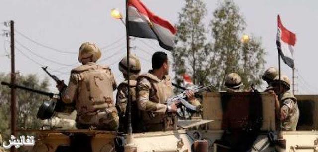 القوات المسلحة تعلن عن مقتل 9 إرهابيين وإصابة 16 في شمال سيناء